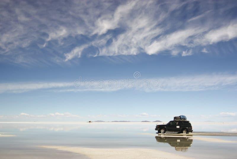 De Bezinning Van De Woestijn Royalty-vrije Stock Afbeelding