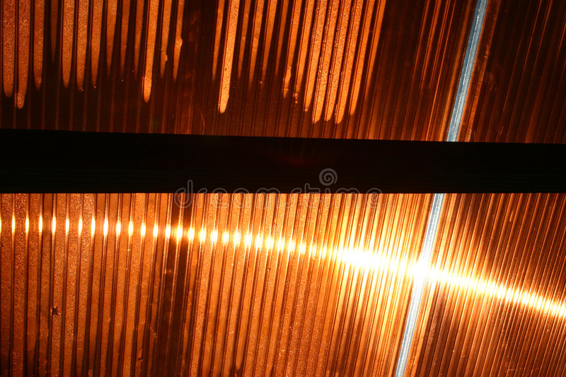 De Bezinning van de zon - 1 stock foto