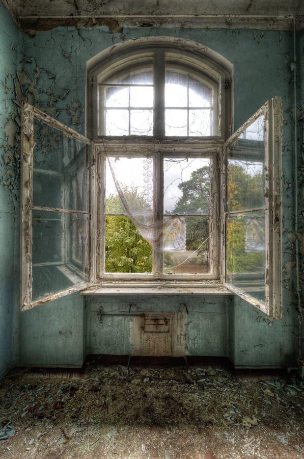 De bezinning van het venster