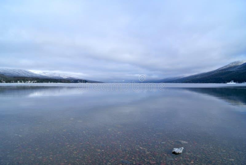 De Bezinning van McDonald van het meer stock foto