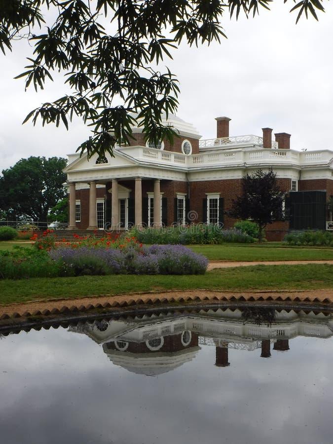 De Bezinning van Monticello royalty-vrije stock afbeelding