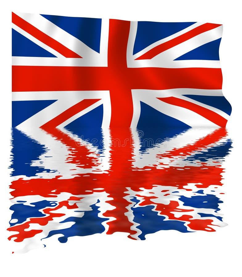 De Bezinning van Union Jack royalty-vrije illustratie