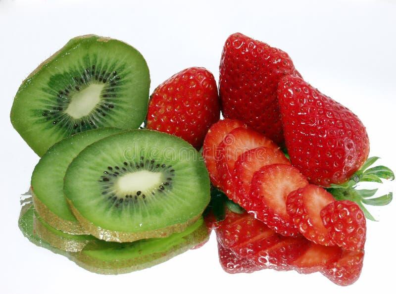 De bezinningen van het fruit royalty-vrije stock afbeeldingen