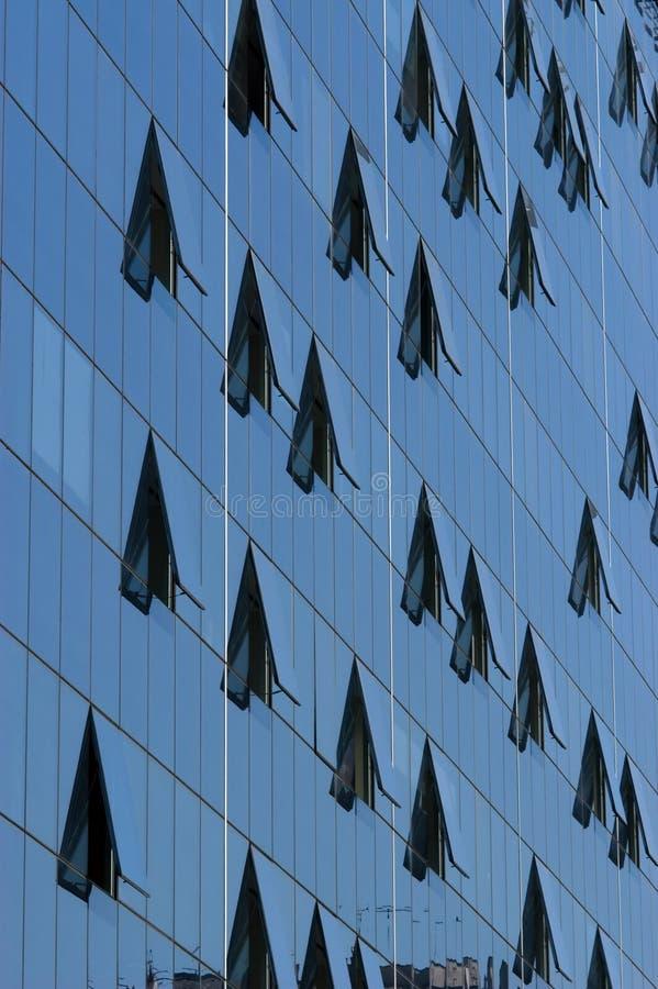 De bezinningen van het venster royalty-vrije stock afbeeldingen