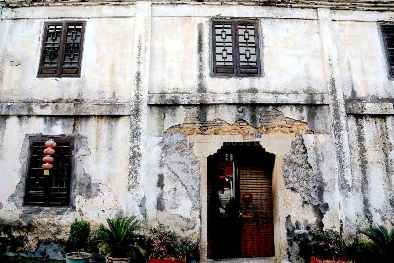 De biancheng chadong oude stad in Hunan, China stock fotografie