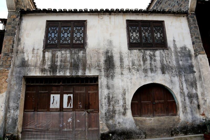 De biancheng chadong oude stad in Hunan, China stock foto