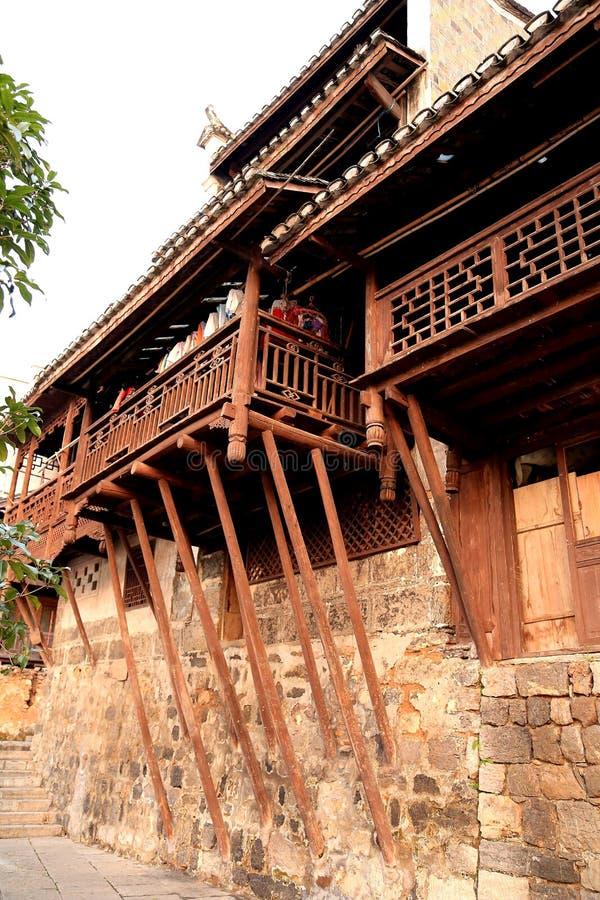 De biancheng chadong oude stad in Hunan, China royalty-vrije stock fotografie