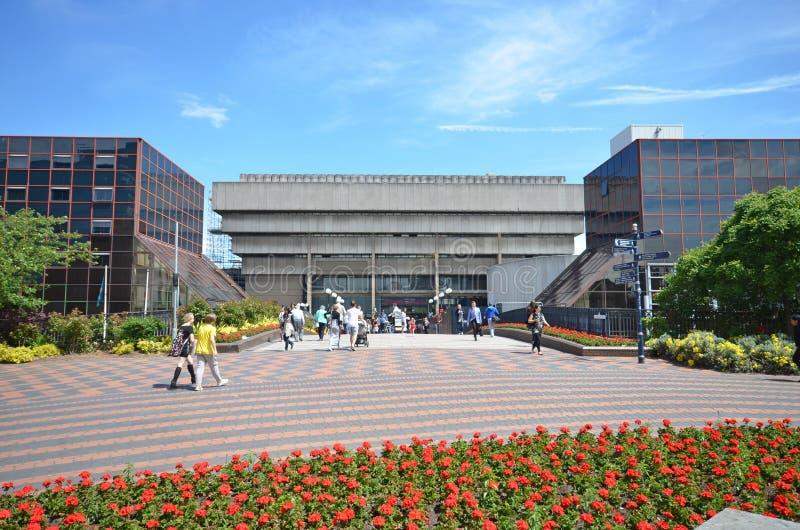 De Bibliotheek van Birmingham Madin stock afbeelding