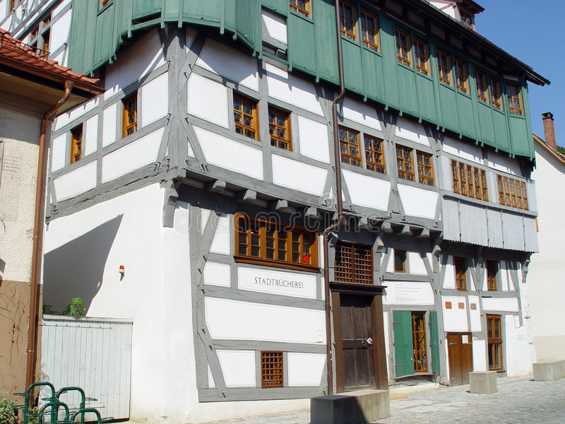 De Bibliotheek van Blaubeuren royalty-vrije stock foto's