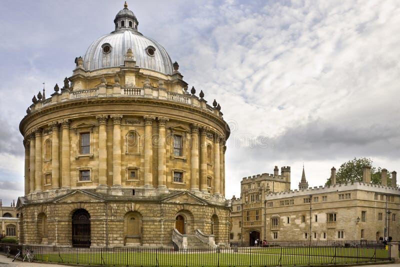 De Bibliotheek van Bodleian - Oxford - Engeland stock afbeelding
