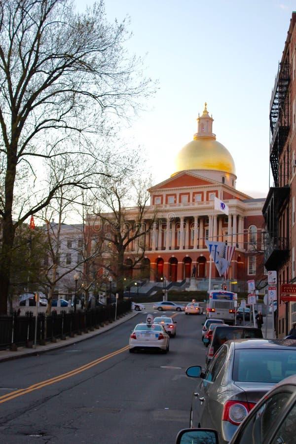 De Bibliotheek van de Staat van Massachusetts royalty-vrije stock afbeeldingen