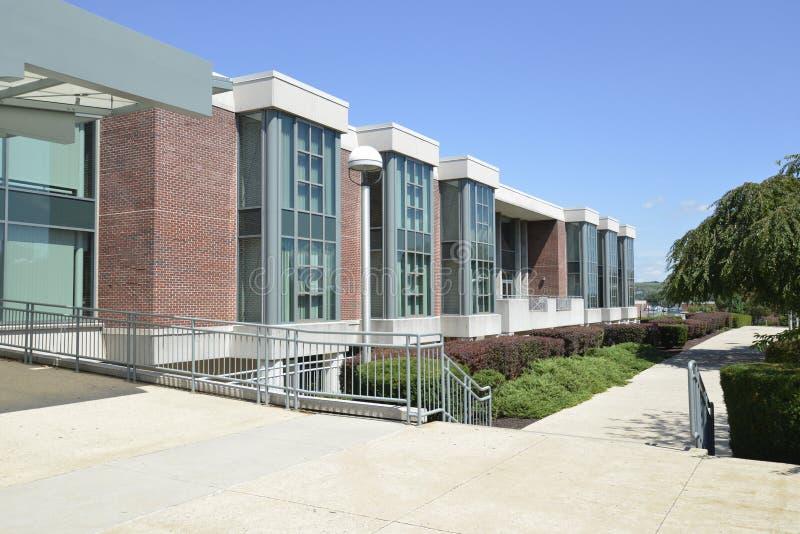 De Bibliotheek van Rohrbach, Universiteit Kutztown stock fotografie