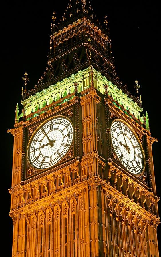 De Big Ben bij Nacht 1 stock afbeelding