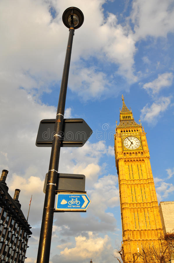 De Big Ben, Londen royalty-vrije stock foto