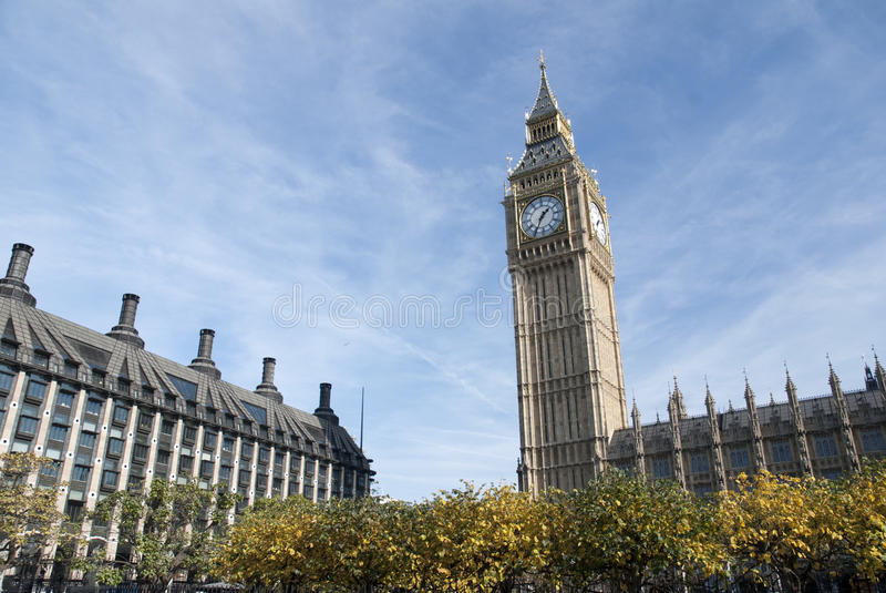 De Big Ben - Londen royalty-vrije stock foto's