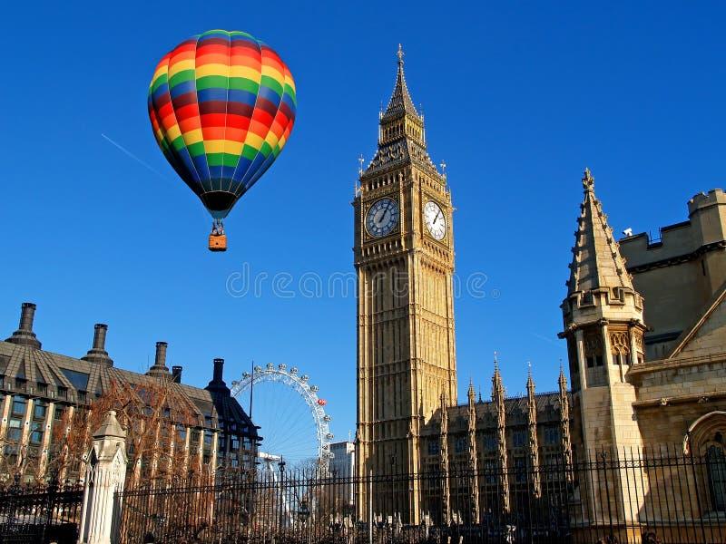 De Big Ben in Londen stock foto's