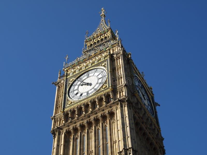 De Big Ben, Londen royalty-vrije stock afbeeldingen