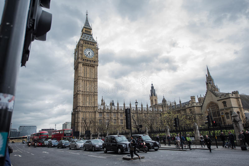 De Big Ben, Londen royalty-vrije stock foto's