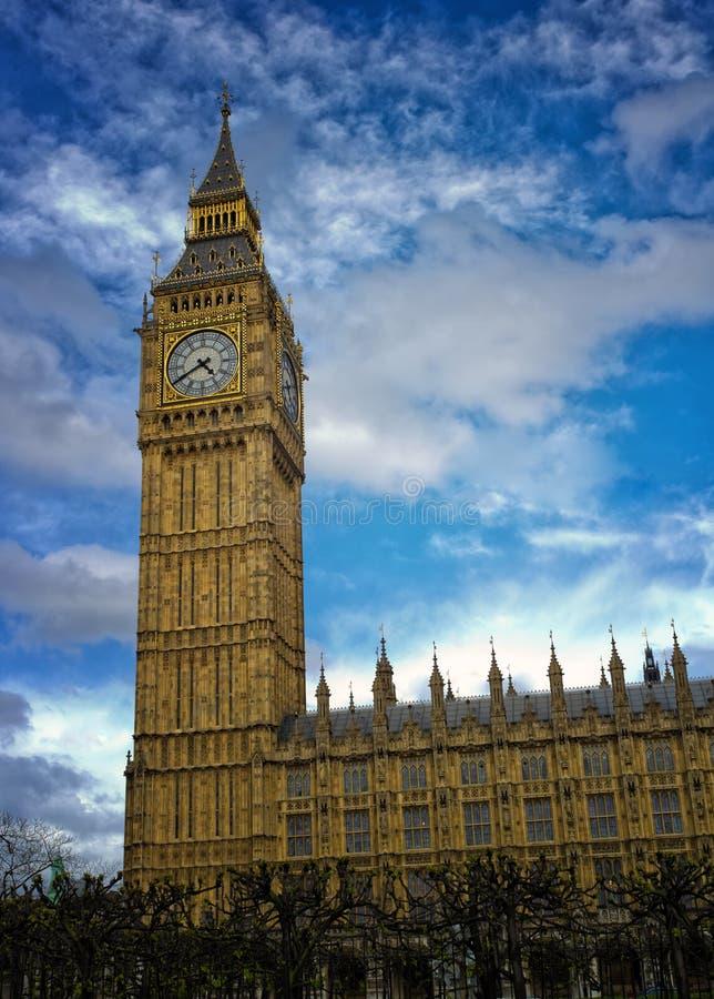 De Big Ben, Londen Engeland stock afbeelding