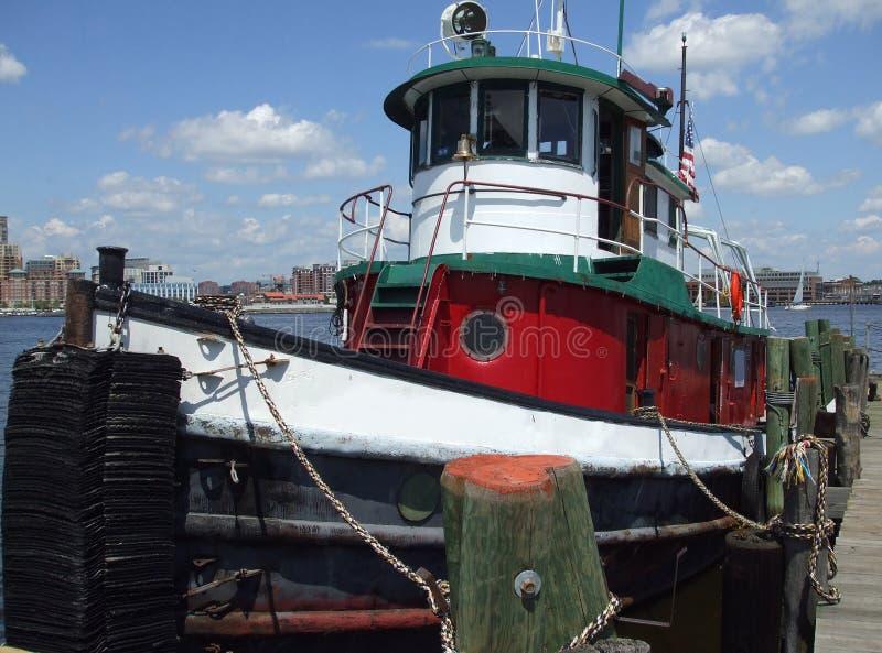 De binnen Sleepboot van de Haven royalty-vrije stock afbeeldingen