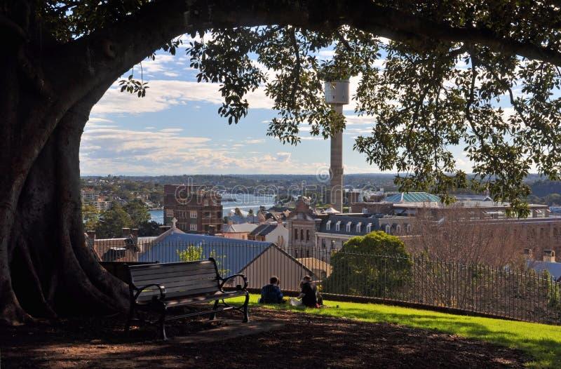 De BinnenHaven van Sydney & het Westen, Australië stock afbeeldingen