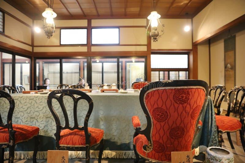 de binnenkant van Shunpanro-zaal royalty-vrije stock foto
