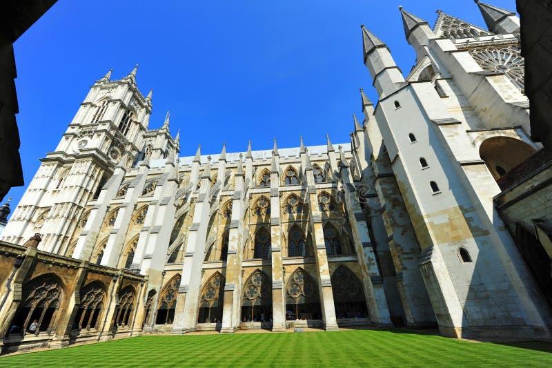De binnenlandse binnenplaats van de Abdij van Westminster royalty-vrije stock foto's