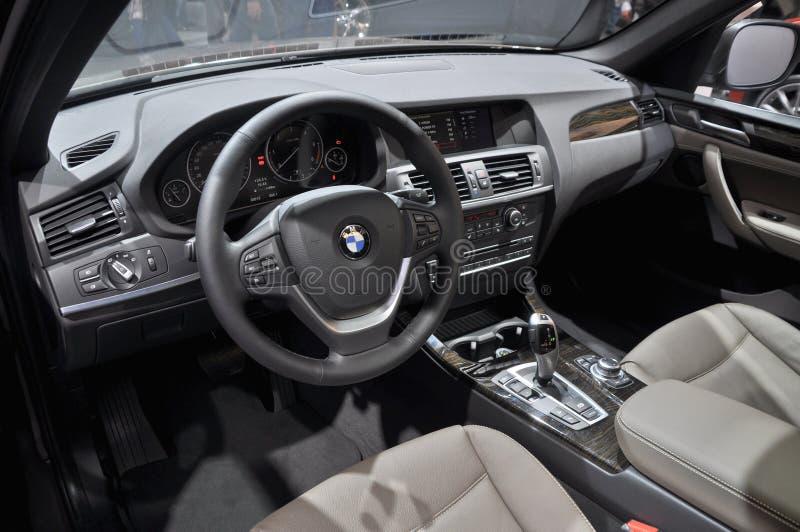 De binnenlandse mening van BMW royalty-vrije stock foto's
