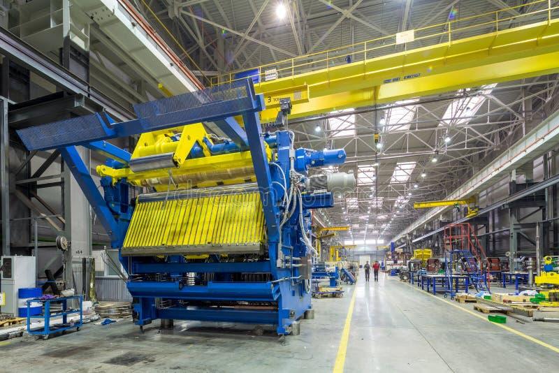 De binnenlandse metaal productie stock afbeelding