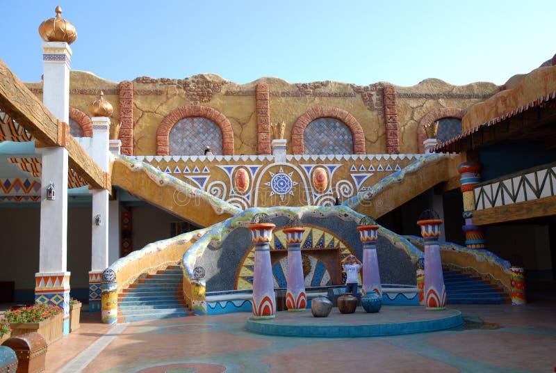 De Binnenplaats van Perzië royalty-vrije stock afbeeldingen