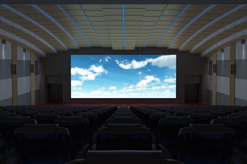 De Bioscoop van de bioskoop stock fotografie