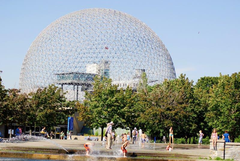 De Biosfeer royalty-vrije stock fotografie