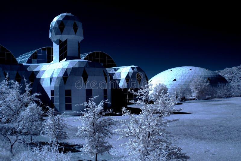De Biosfeer van Arizona stock afbeeldingen