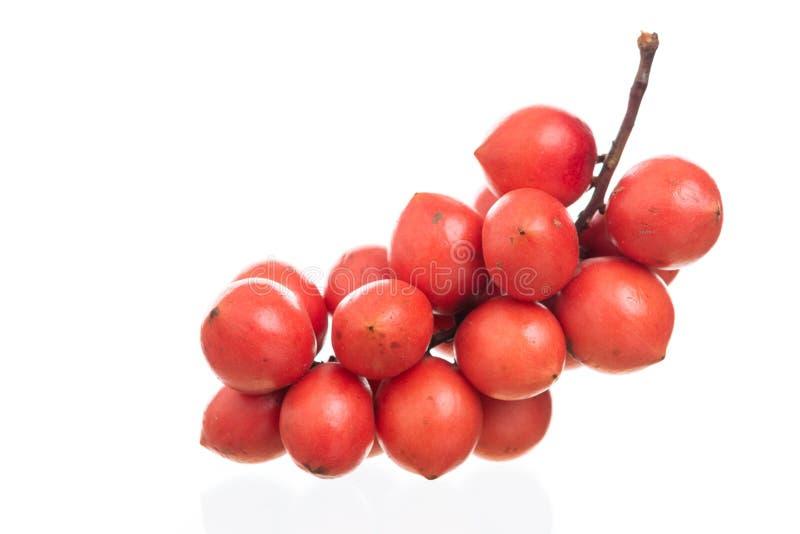 """De Birmaanse druif of Rambai, Thaise inheemse fruitnaam in Thai zijn \ """"Ma F stock afbeelding"""