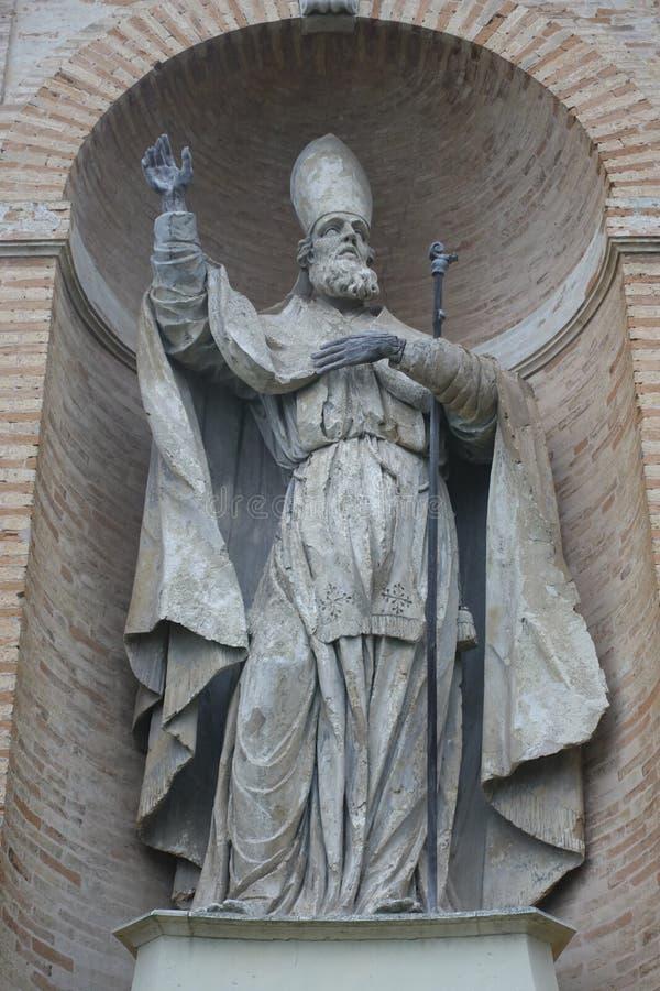 De bischop van heilige Sabino, Fermo-stad, het gebied van Marche, Italië royalty-vrije stock foto's