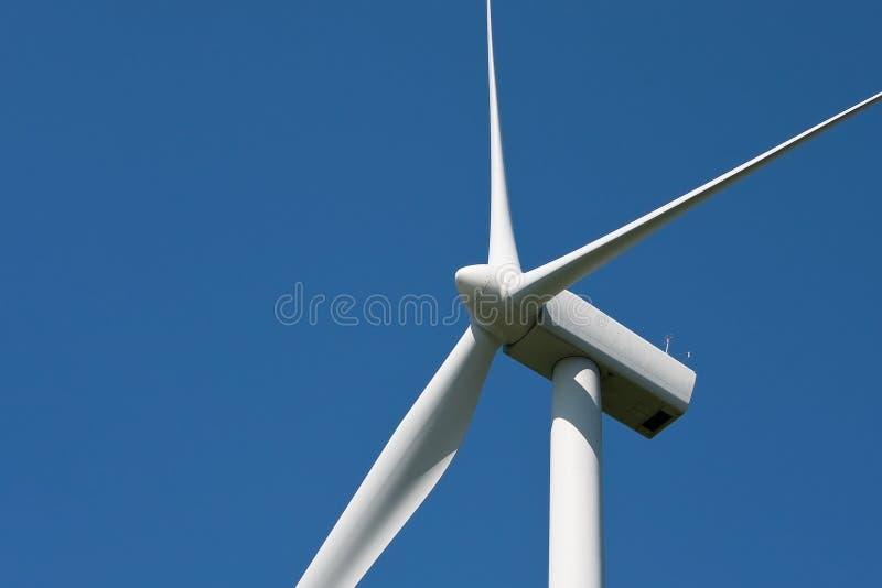 De bladen van de de turbinerotor van de wind royalty-vrije stock fotografie