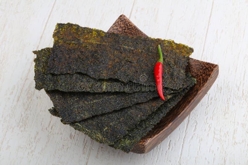 De bladen van het Norizeewier stock fotografie