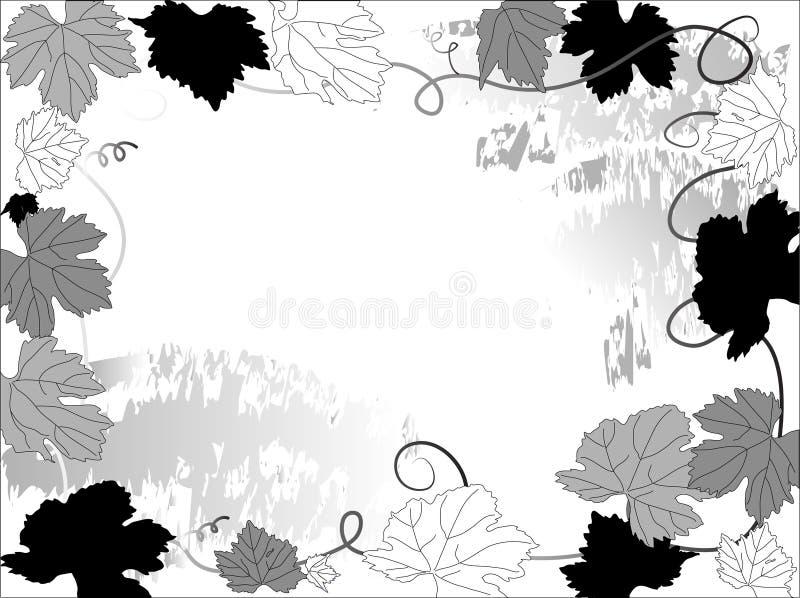 Download De Bladeren Van De Wijnstok Vector Illustratie - Illustratie bestaande uit pagina, gradiënt: 10780982