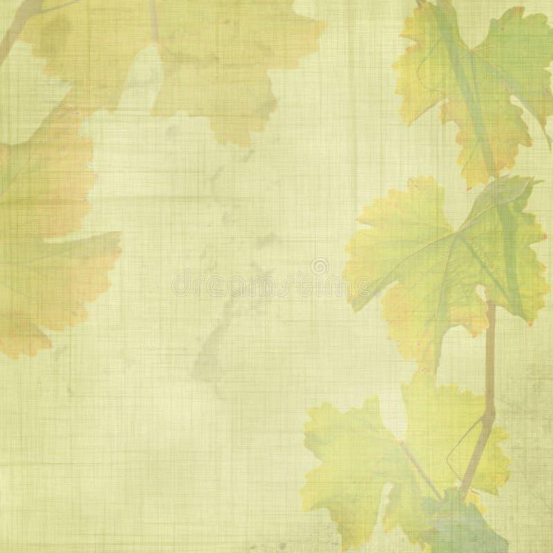De bladerenachtergrond van de herfst stock illustratie