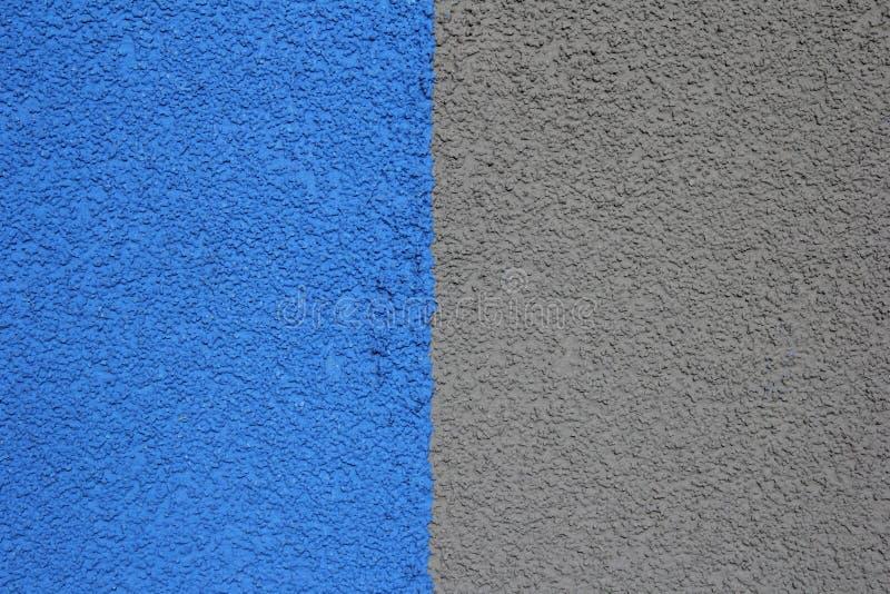 de blauw-grijze pleisterbouw, structuur royalty-vrije stock afbeeldingen