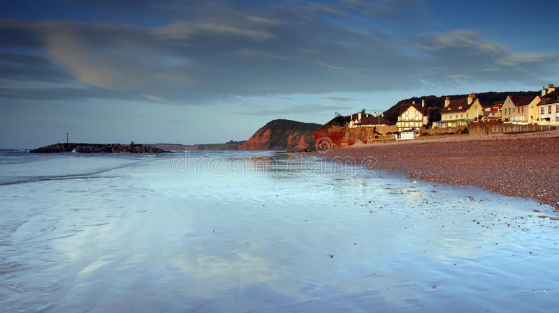 De blauw van Sidmouth royalty-vrije stock afbeelding