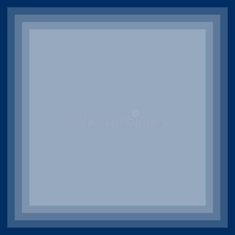 De blauwe abstracte Achtergrond van de Gradiëntgrens Vector illustratie royalty-vrije illustratie