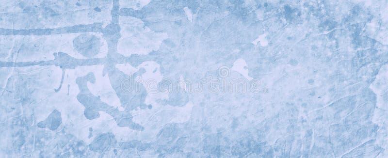 De blauwe achtergrond grunge met waterverfdruppels laat vallen vlekken en spat en marmer bevlekte uitstekende grenstextuur vector illustratie