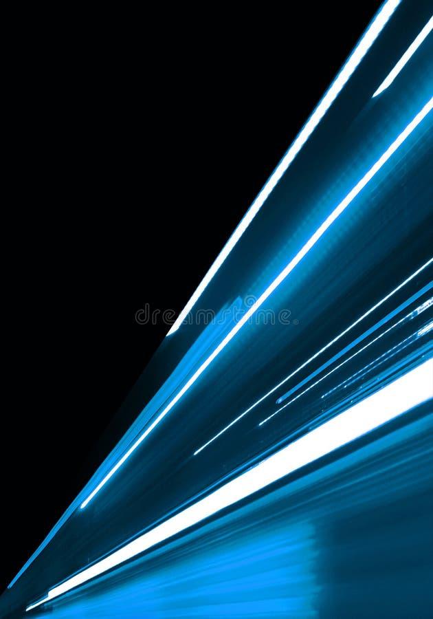 De blauwe Achtergrond van de Motie stock illustratie