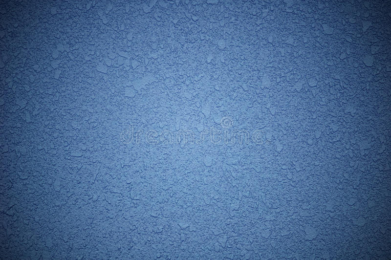 De blauwe achtergrond van de muurtextuur stock foto's