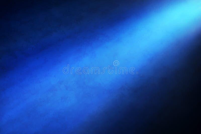 De blauwe Achtergrond van de Schijnwerper royalty-vrije stock foto's
