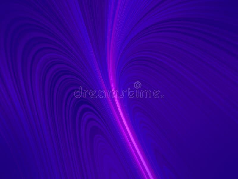 De blauwe achtergrond van het abstractieneon voor divers ontwerp royalty-vrije illustratie