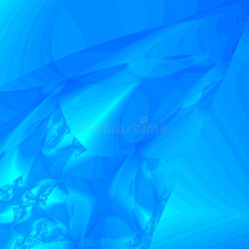 De blauwe achtergrond van het Ijs royalty-vrije illustratie