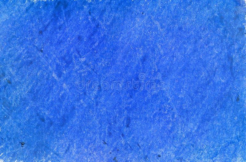De blauwe achtergrond van het kleurpotlood royalty-vrije stock foto's