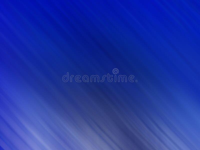 De blauwe Achtergrond van Stralen stock illustratie